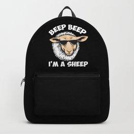Beep Beep I'm A Sheep Backpack