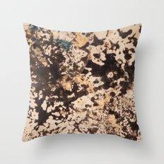 Splattered Space Throw Pillow