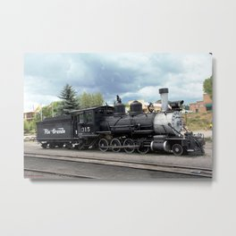 Relic of the Historic Denver & Rio Grande Western NG Railroad Metal Print