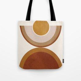 Modern Geometry Tote Bag