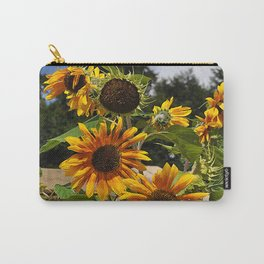 Sunflowers nature Flowers Carry-All Pouch