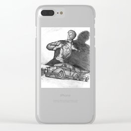 Daredevils Clear iPhone Case