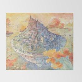 The Castle Throw Blanket