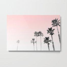 Tranquillity - pink sky Metal Print