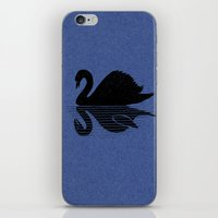 scary iPhone & iPod Skins featuring scary shadow by barmalisiRTB