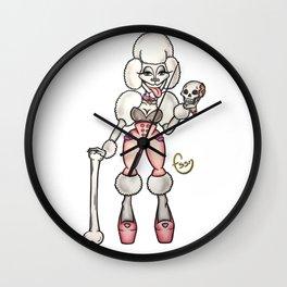 Fossana Doggystyle Wall Clock