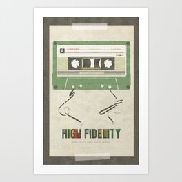 High Fidelity Art Print