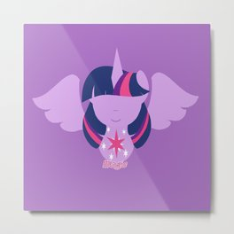 Twilight Sparkle - Alicorn Metal Print
