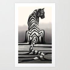 Shadow Fall Art Print