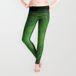 Green Mandala Leggings