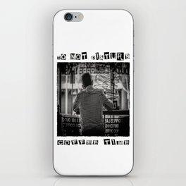DO NOT DISTURB - Coffee Time iPhone Skin