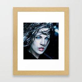 Hypnotic Eyes Framed Art Print