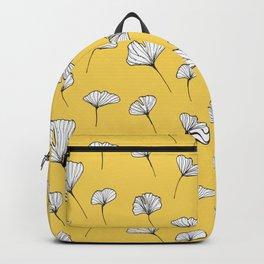 Ginkgo Biloba Leaves Pattern Backpack