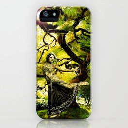 Beneath the Bodhi Tree iPhone Case