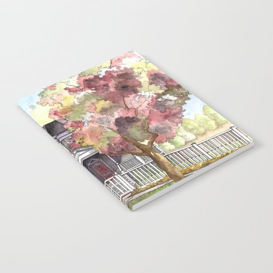 Springtime in the Country Notebook