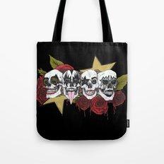 Rock 'n' roll all night Tote Bag