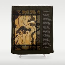 Cat of Nine Tales Shower Curtain