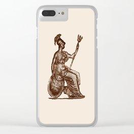 Britannia Clear iPhone Case