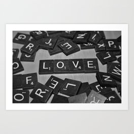 Let Your Love Stand Out Art Print