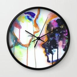 Anger Fools Wall Clock