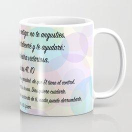 Burbujas de color - Isaías 41, 10 Coffee Mug