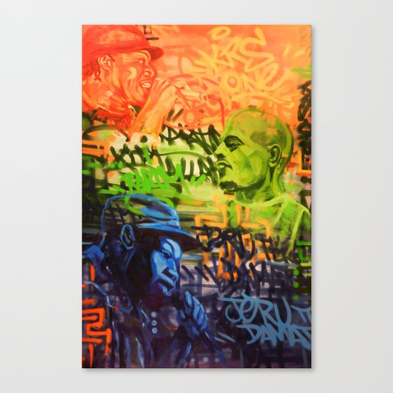Legendary Emcees Canvas Print