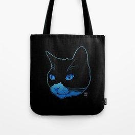 Blue Pepper Tote Bag