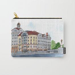 Business Center Fish Market, Kaliningrad, Russia Carry-All Pouch