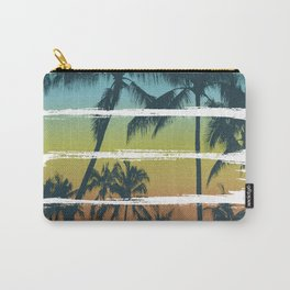 Tropical Brush Strokes II Carry-All Pouch