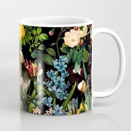 FLORAL AND BIRDS V Coffee Mug