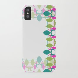 Flamingo bright 2 iPhone Case