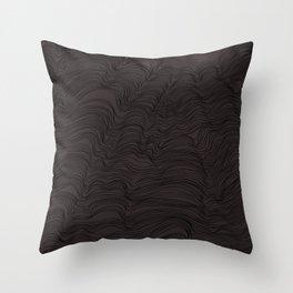 Depth of Gray Throw Pillow
