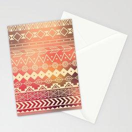 Aztec pattern 01 Stationery Cards
