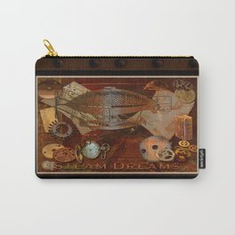 Steam Dreams - Steampunk Theme Carry-All Pouch