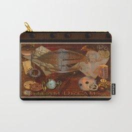 Steam Dreams - Steampunk Theme Carry-All Pouch