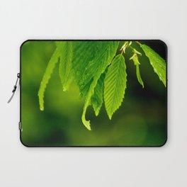 Wet leaves Laptop Sleeve