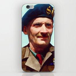General Bernard Montgomery, WWII Leader iPhone Skin