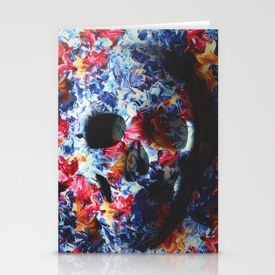 Skull (light version) Stationery Cards