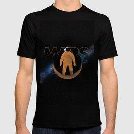 Mars (w/text) T-shirt