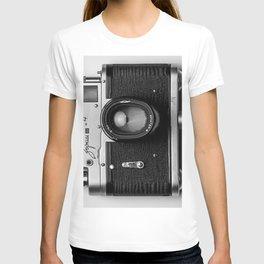 Camera style T-shirt