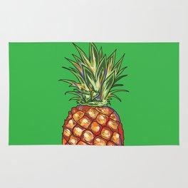 Pineapple, tropical, Hawaii Rug