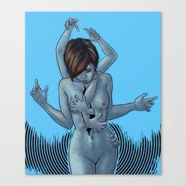 """""""Inner Demons"""" Canvas Print"""