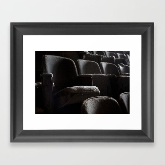 Theater Seats Framed Art Print