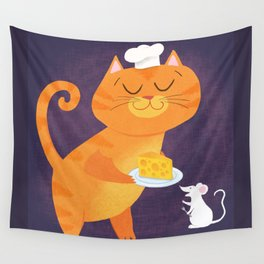 Dinner Is Served Wall Tapestry