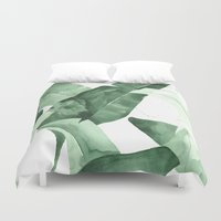 watercolour Duvet Covers featuring Beverly II by THE AESTATE