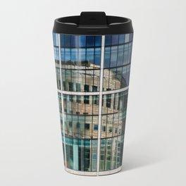 London Photography Canary Wharf Reuters Travel Mug