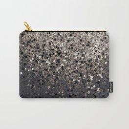 Sepia Glitter #1 #shiny #decor #art #society6 Carry-All Pouch