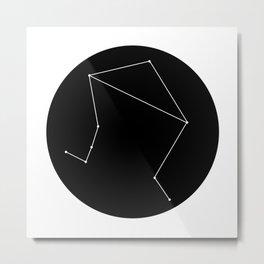 LIBRA (MINIMALIST DESIGN) Metal Print