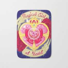 Magical Girl At Heart Bath Mat