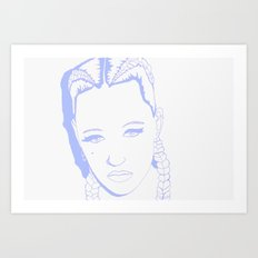 Brooke Candy II Art Print